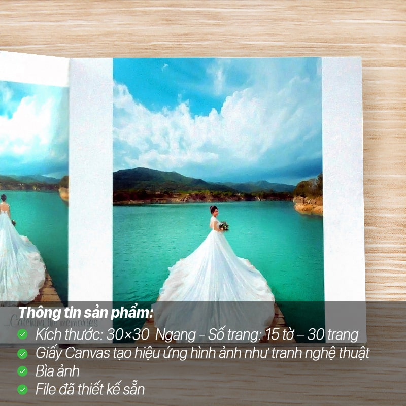 Photobook Giấy Canvas