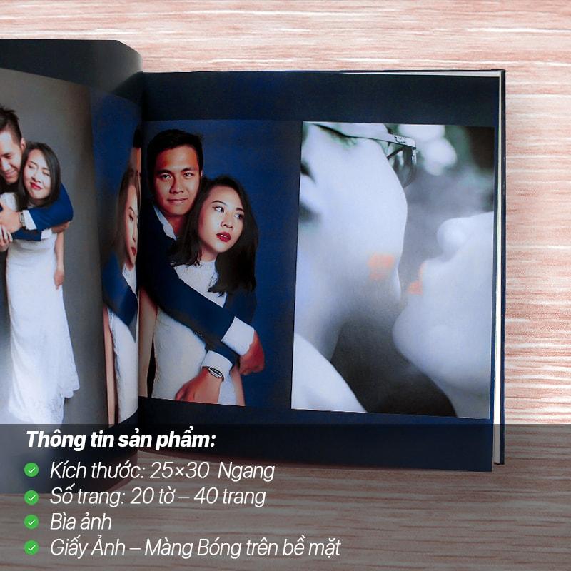 Photobook Giấy Ảnh – Màng Bóng