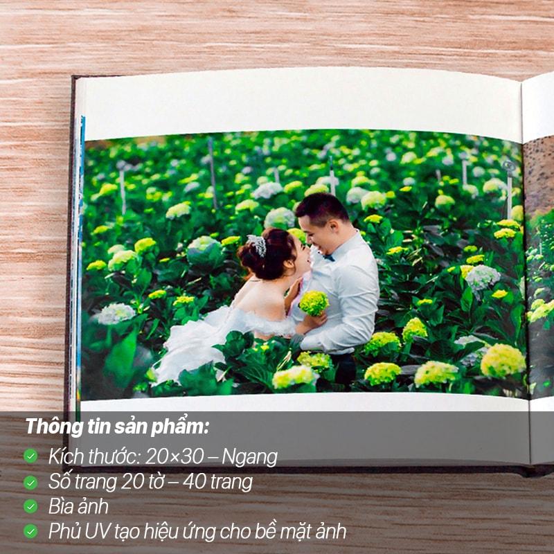 Photobook Giấy Ảnh Phủ UV