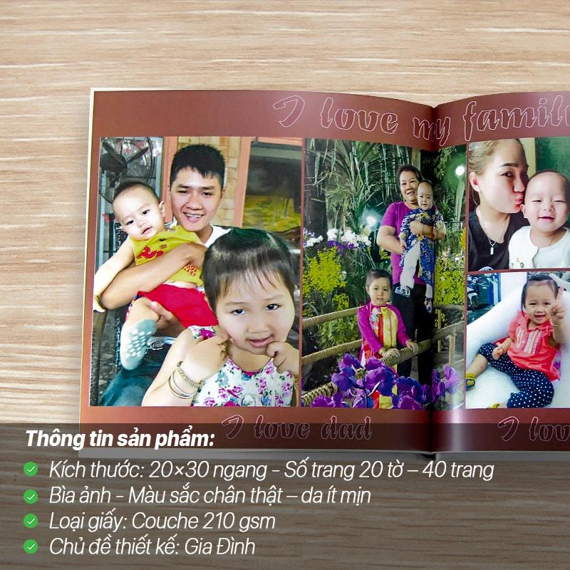Photobook Kỷ Yếu – Gia Đình